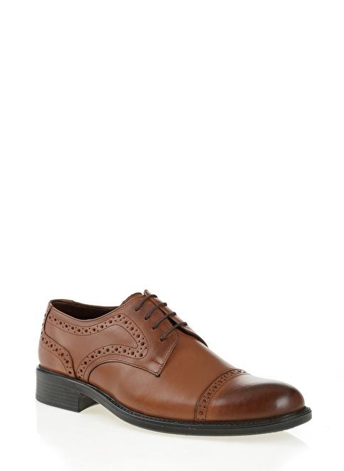 D by Divarese %100 Deri Klasik Ayakkabı Taba